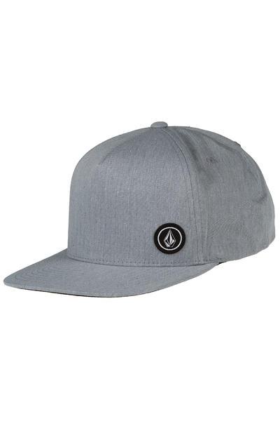 Volcom Single Stone Snapback Cap (heather grey)