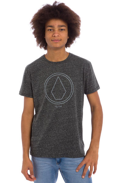 Volcom Pinline Stone T-Shirt (heather black)