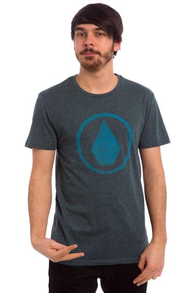 Volcom Solid Stone Heather T-Shirt (navy)