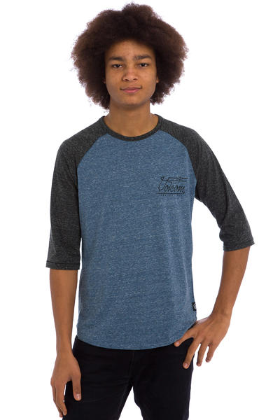 Volcom Move On 3/4 Longsleeve (grey blue)