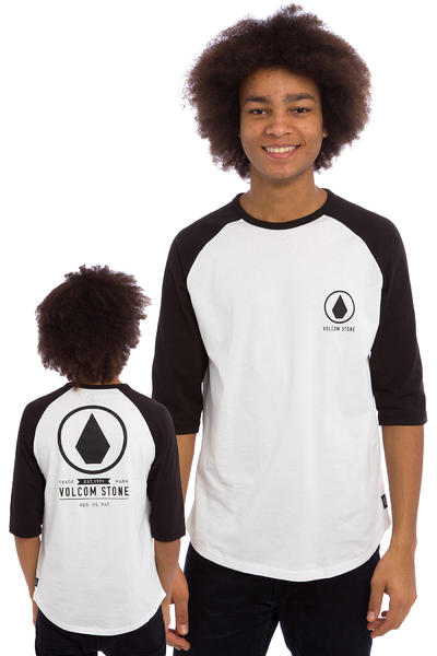 Volcom Move On 3/4 Longsleeve (white)