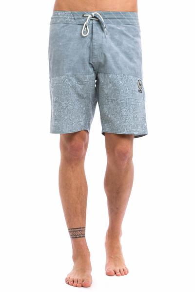 Volcom Don Pendleton Slinger Boardshorts (grey blue)