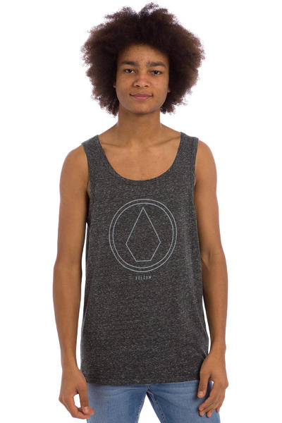 Volcom Pinline Stone Tank-Top (heahter black)