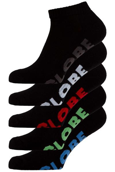 Globe Stealthh Ankle Socken US 7-11 (black) 5er Pack