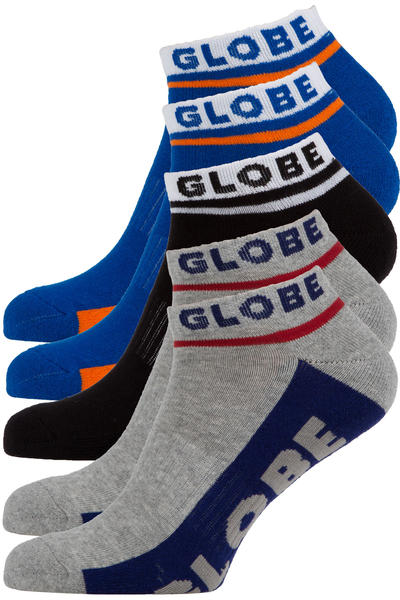 Globe Bueller Ankle Socken US 7-11 (multi) 5er Pack
