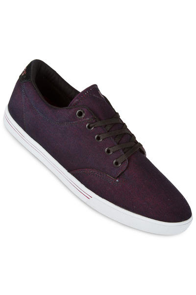 Globe Lighthouse Slim Shoe (dark burgundy white)