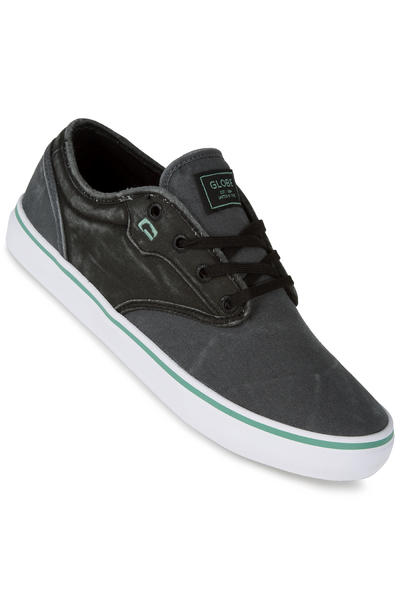 Globe Motley Shoe (dark shadow black wash)