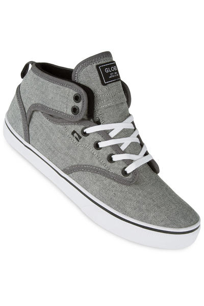 Globe Motley Mid Chaussure (dark grey white)