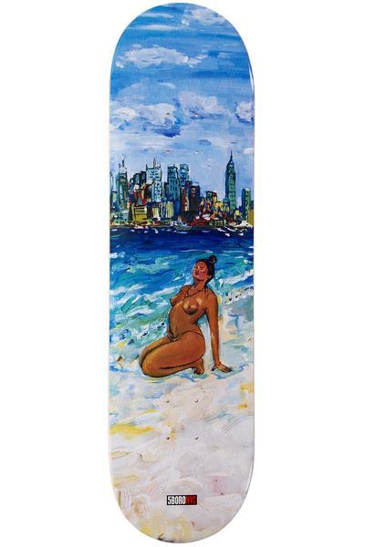 "5BORO Caliente Beach Chica 8.25"" Deck (blue)"