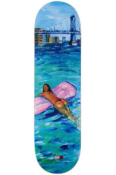"""5BORO Caliente River Chica 8.3"""" Planche Skate (blue)"""