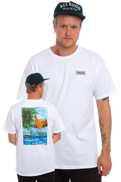 5BORO Palm Chica T-Shirt (white)