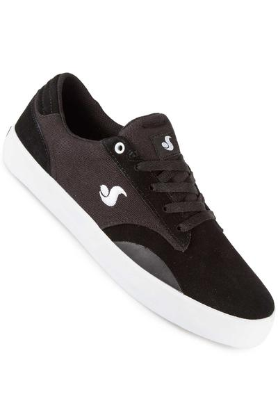DVS Daewon 14 Suede Canvas Shoe (black white)