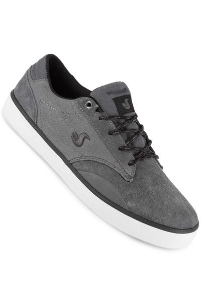 DVS Daewon 14 Suede Canvas Shoe (dark grey)