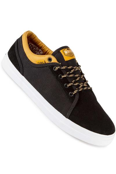DVS x Wallin Aversa Suede Canvas Shoe (black tan)