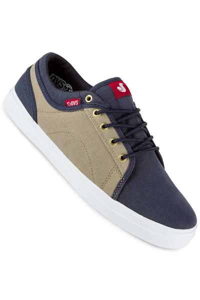 DVS Aversa Canvas Shoe (navy tan)