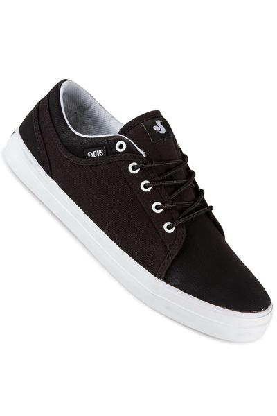 DVS Aversa Leather Shoe (black black white)
