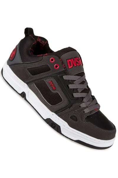 DVS Comanche Nubuck Shoe (grey red black deegan)