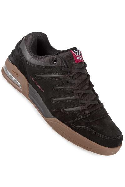 DVS x Getz Tycho Nubuck Shoe (black gum)