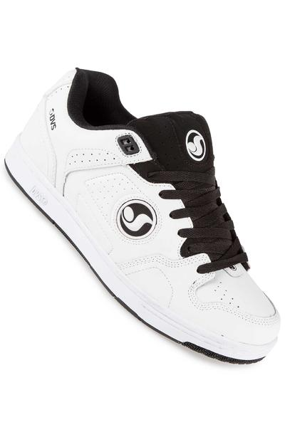 DVS Discord Leather Shoe (white black)