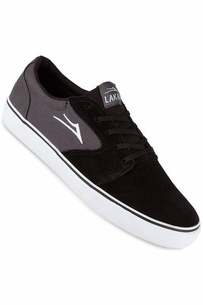 Lakai Fura Suede Shoe (black grey)