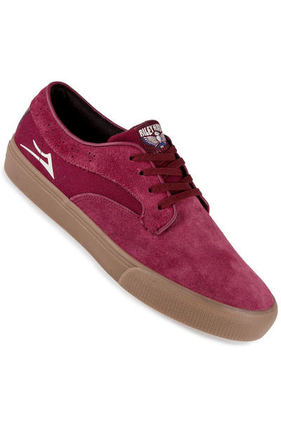 Lakai Riley Hawk Suede Shoe (port)