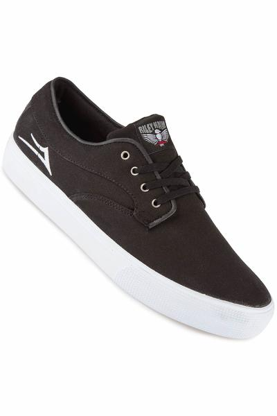 Lakai Riley Hawk Canvas Shoe (black)