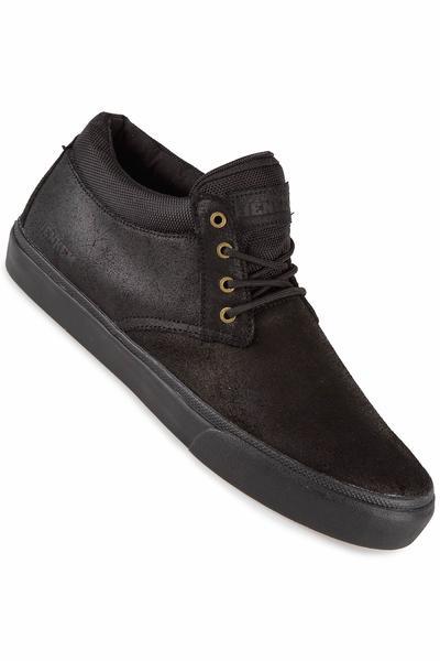 Lakai x Jenkem MJ Mid Suede Shoe (black black)