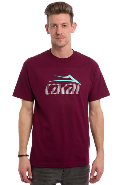 Lakai Tonal Tech T-Shirt (burgundy)