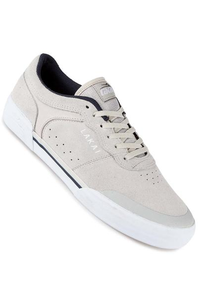 Lakai Staple Suede Shoe (white)