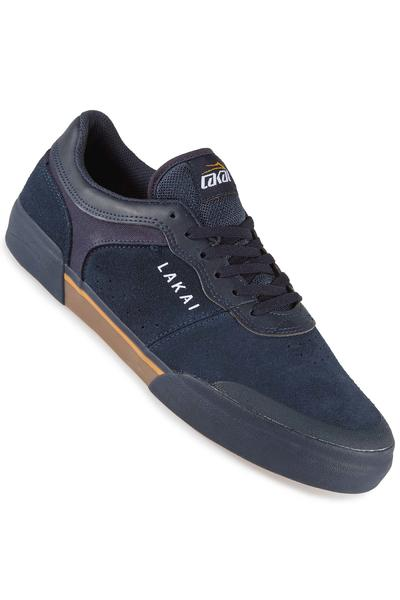 Lakai Staple Suede Shoe (navy gum)