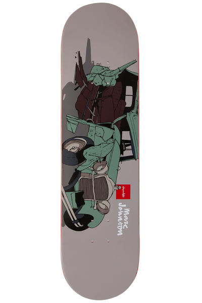 "Chocolate Johnson Car Crash 8.125"" Deck"