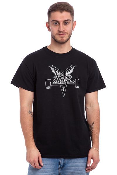 Thrasher Blackout T-Shirt (black white)