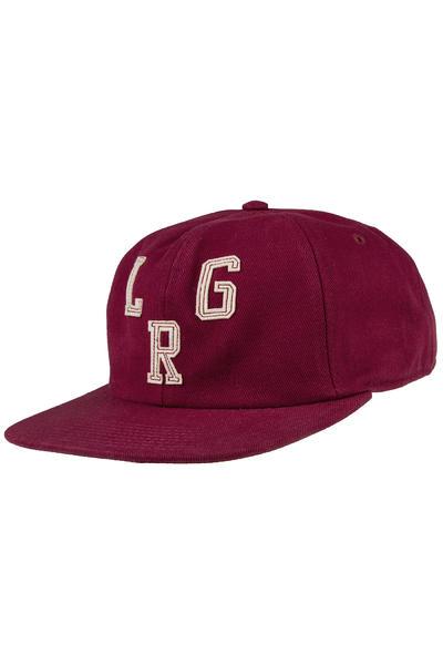 LRG Heritage Strapback Cap (burgundy)