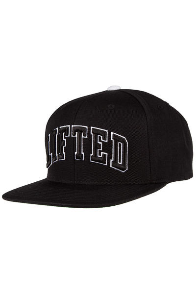 LRG Lifted Snapback Cap (black)