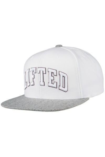 LRG Lifted Snapback Cap (white)