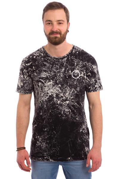 Cleptomanicx Marble T-Shirt (black)