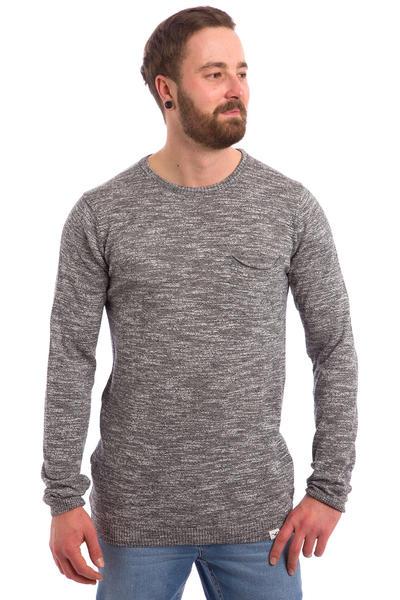 Cleptomanicx Slubber Sweatshirt (storm grey)
