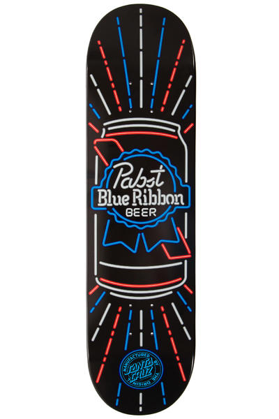 "Santa Cruz PBR Neon 8.375"" Deck (black)"