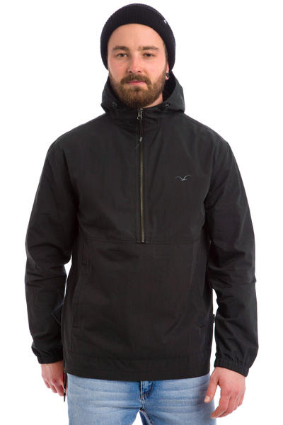 Cleptomanicx City Hooded Light Jacke (black)