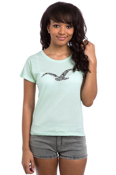 Cleptomanicx Möwe Mamaste T-Shirt women (bay)