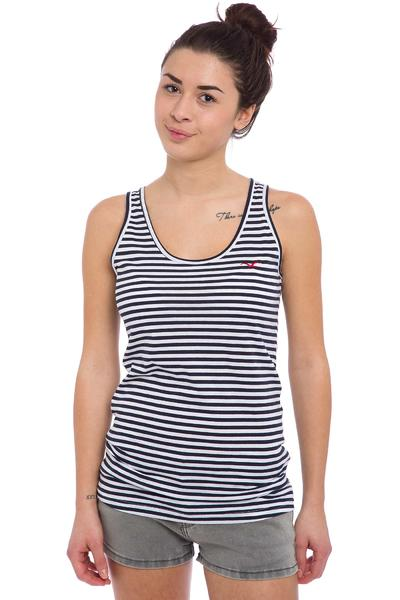 Cleptomanicx Möwe Stripe Tank-Top women (dark navy)