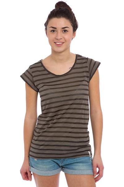 Cleptomanicx Summa T-Shirt - storm grey - Damen