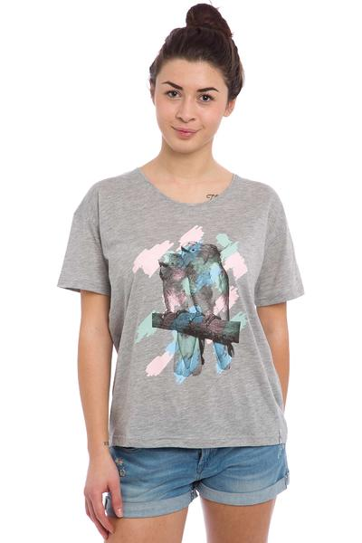 Cleptomanicx Tropical T-Shirt women (heather grey)