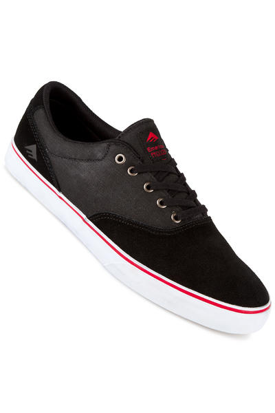 Emerica The Provost Slim Vulc Shoe (black denim)
