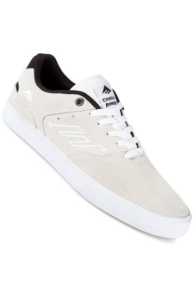 Emerica The Reynolds Low Vulc Shoe (white black)