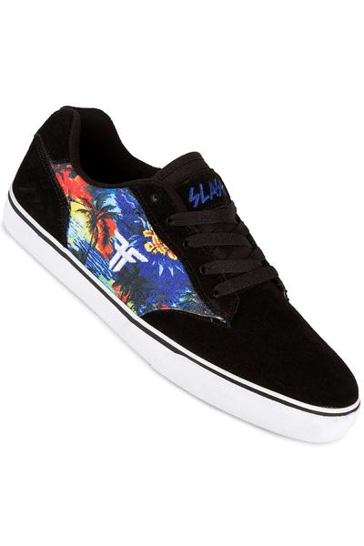 Fallen Slash Schuh (black white hawaiian)