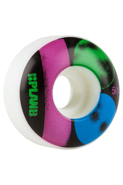 Plan B Team Stencil 50mm Wheel (white) 4 Pack