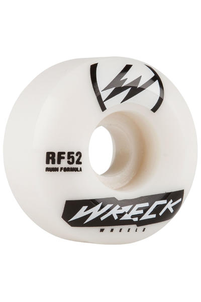 Wreck W2 52mm Roue (white) 4 Pack