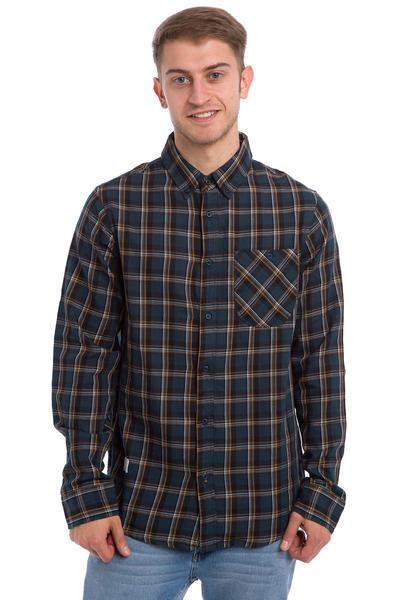 Altamont Willy Pete Flannelshirt (navy)