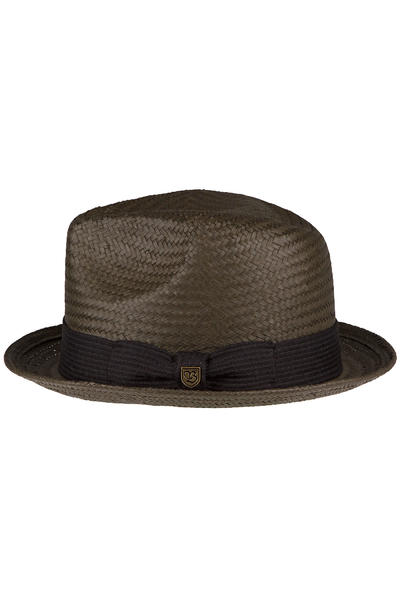 Brixton Castor Hat (washed black)